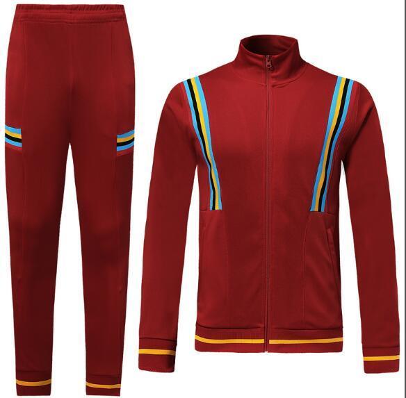 # 639 Top soccer jersey thaïlande Light Board veste rouge foncé Survêtement nouveau 1920 2020 kit chemise de football hommes