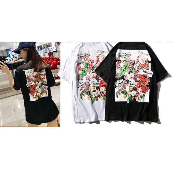Men's designer T-shirt luxury top brand American street fashion hip-hop style printing Polos summer cotton 100% black men and women models