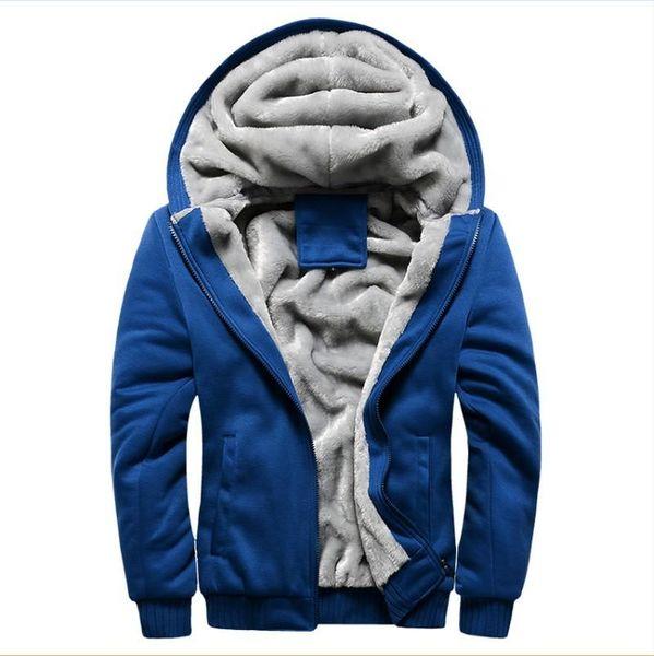 Thicken Wool windbreaker Men's Warm Winter Coats Hoodies Sweatshirts Cotton Polo Bomber Jacket Sportswear Tracksuits For Men 5XL