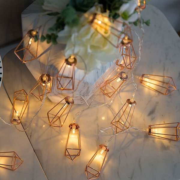 80led Fairy Retro Rose Gold Diamond Battery Operated String Lights 10m Led Decoration For Christmas Garland New Year Gerlyanda Sm Hl 009 Blue Led