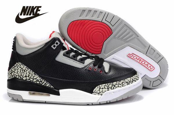 new product ace95 eb3c6 2019 Air Jordan Retro 3 Basketball Shoes 3s Jordan III Jordans Michael Air  Trainers Quai 54 Men Women Tinker Mocha JTH Mocha Charity Game Pure ...