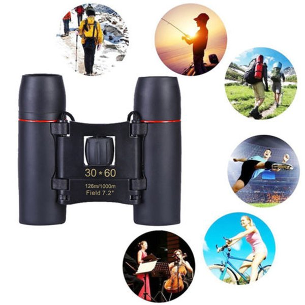 1000m telescope 30x60 folding binoculars with low light night vision for outdoor bird watching travelling hunting camping a30729 thumbnail