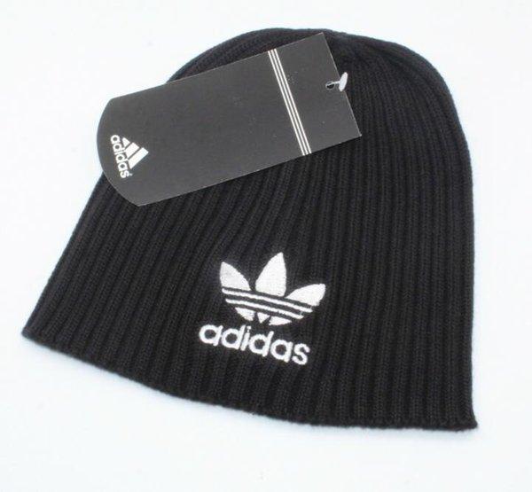 Лучшие продажи Канада мужская вязаная шапка в классическом спортивном череп шапки женщин шапочки осень повседневная открытый гусиный капот touca шерсть шляпы шарф 039