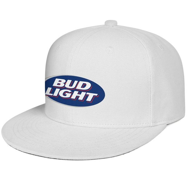 Womens Mens Flat-along Adjustable bud light sign Rock Punk Cotton Snapback Hats Summer Travel Hats Cadet Army Caps Airy Mesh Dad Hats For Me
