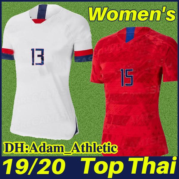 2019 women World Cup America Female football Shirts American girls football jersey #10 LLOYD #15 RIPINOE #13 MORGAN lady soccer Jersey 2020
