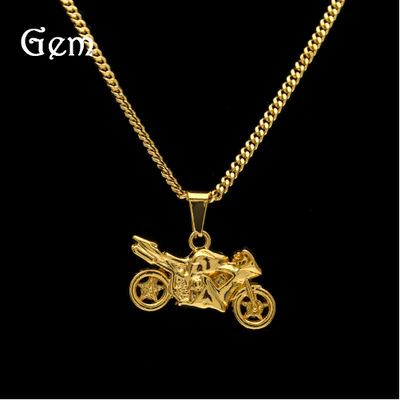 New Fashion Men Cool Motorcycle Pendant Alloy Keychain Car Key Ring Key Hip Hop Chain Gift