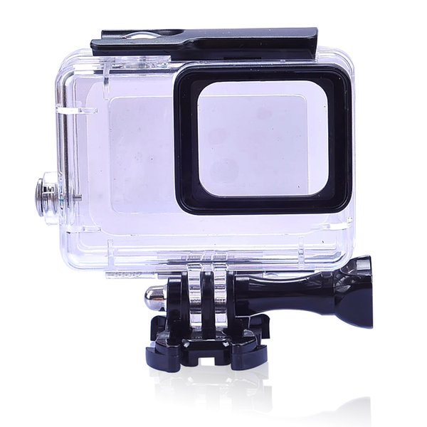 Waterproof protection hou ing ca e for gopro hero 7 6 5 acce orie diving 45m protective for go pro hero 7 6 5 camera