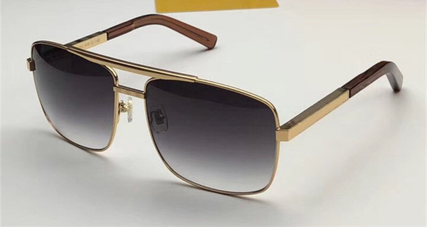 gold Gradient grey lens