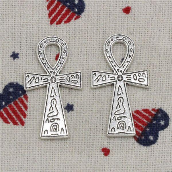78pcs Charms egyptian ankh life symbol 39*21mm Pendant,Tibetan Silver Pendant,For DIY Necklace & Bracelets Jewelry Accessories