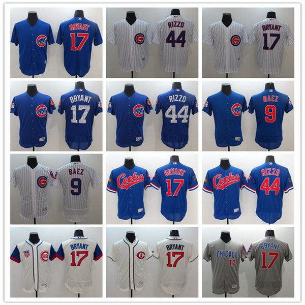 low priced 12918 ff90b 2018 2018 High Quality Men Chicago Cubs 17 Kris Bryant 44 Anthony Rizzo 9  Javier Baez Baseball Jerseys From Hgats, $23.35 | DHgate.Com