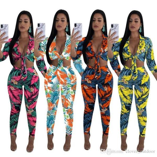 женская одежда 2 шт наряды с длинным рукавом бандаж рубашка брюки спортивный костюм низкий вырез толстовка колготки спортивная клубная одежда горячая n6