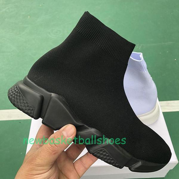 Plate-forme pas cher vitesse Entraîneur des femmes des hommes Sock Chaussures Rouge Noir Blanc Hommes Femmes Top qualité Mode de luxe de sneakers Casual Q8