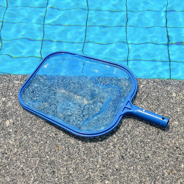 Blue Professional Leaf Rake Mesh Frame Net Skimmer Cleaner Swimming Pool Spa Tool swim pool rubbish leaves cleaner cleaing mesh