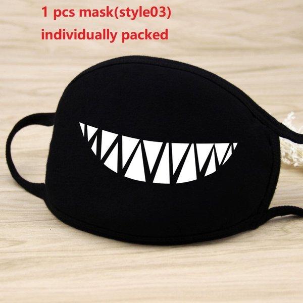 1pc maschera nera (style03)