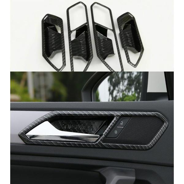 Kohlefaser-Innentürschüssel-Abdeckungs-Ordnung für Volkswagen VW Tiguan 2. GEN 2017-2018