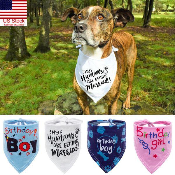 Cute Pet Dog Puppy Cat Neck Scarf Fashion Bandana Collar Pañuelo para el cuello Bufanda Cute Pet Cartoon Accesorios