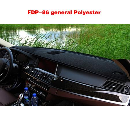 FDP-86General Black Polyester Black edge