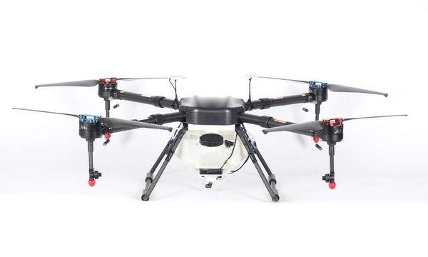 Professional And Best 4 Rotors Agricultural UAV Agriculture Drones Sprayer  10kgT1 10L Black Hawk New Version For Sale Home Monitoring Smart Home