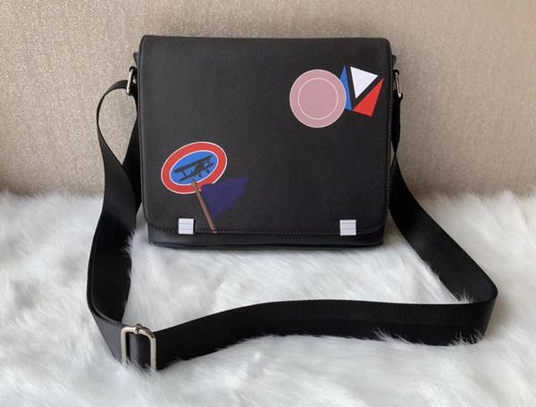2020 nova moda clássico homens mensageiro sacos mochila corpo cruz mochila deve 41213 com saco de poeira