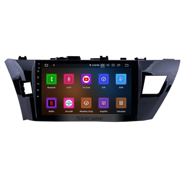 10.1 inch Android 9.0 1024*600 touchscreen Head Unit GPS Car Radio for 2013 2014 2015 Toyota Corolla LHD with WIFI support car dvd 1080P 4G