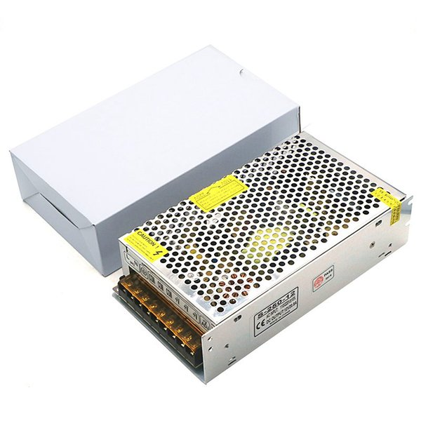 Trasformatori per trasformatori di alimentazione AC110-220V a DC 12V 20.8A 250W per moduli 5050 3528 5630 LED Strip Light / LED