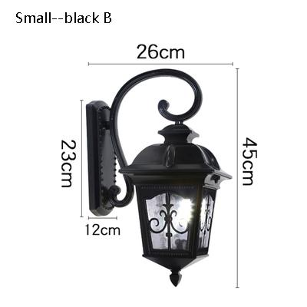 small black B