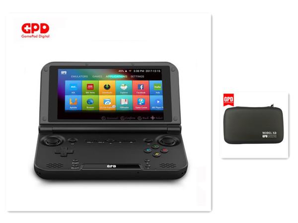 Venta al por mayor GPD XD Plus 5 pulgadas PC de juegos portátil Consola de juegos inteligente Juego de 4GB / 32GB para computadora portátil mini con bolsa 32GB Tarjetas SD