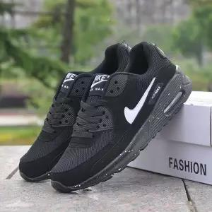 top popular Max90 air cushion sports female lace casual wild running shoes men autumn and winter couple travel shoes 2019