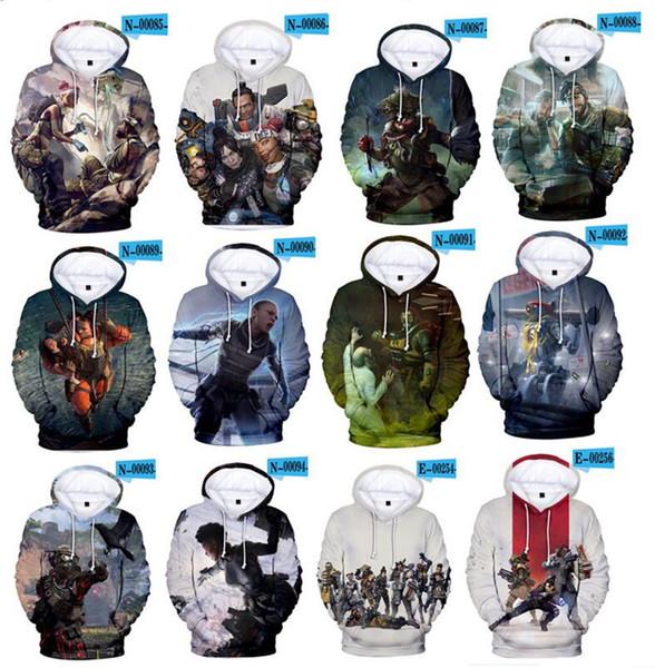 Apex Legends 3D Print Hoodies Sweatshirt Long Sleeve Women//men Clothes 2019 USA