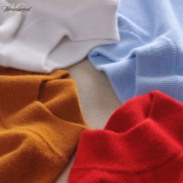 Кашемировые свитера высокого качества женщин Мода осень зима женщина мягкая Комфортная теплая Доставка Тонкий кашемира пуловеры падения