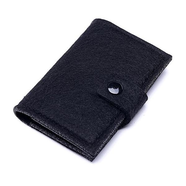 Wholesale 2019 Short Fashion Card Holders Sale New Style men women Cheap White Black Wallet Free Shipping 002-12S
