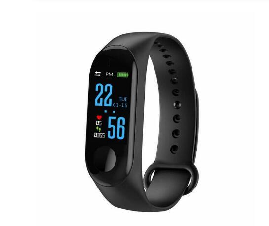 2019 Fitness Bracelet Blood Pressure Outdoor IPS Screen Heart Rate Monitor Life Waterproof ISmart Wristbands Perfect for Adults and Children