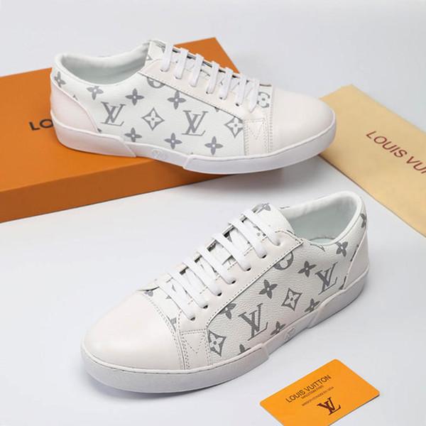 Neue Mens Schuhe Casual Wohnungen Zapatos de Hombre Faulenzer 2019 Mode Atmungsaktiv Zu Fuß Einfach Leben Männer Schuhe Leder Große Größe M # 53 Drop Ship
