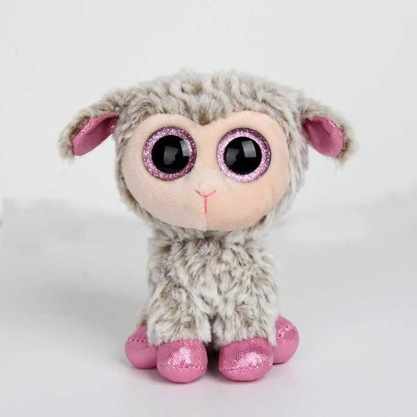 "y Beanie Boos 6""15cm unicorn Sheep pig Plush toy Stuffed Animal Collectible Soft Doll Toy For Children baby girl Christmas Gift"