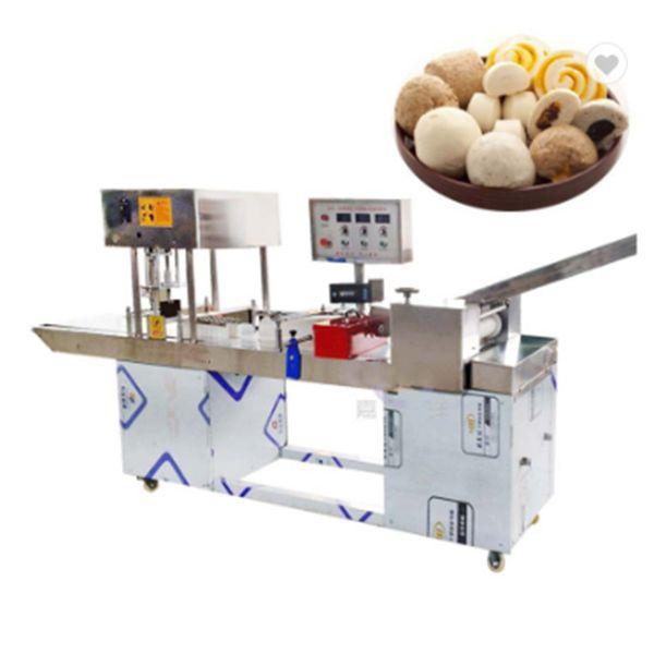 가장 인기있는 상업용 스테인레스 스틸 나이프 찐 빵 기계