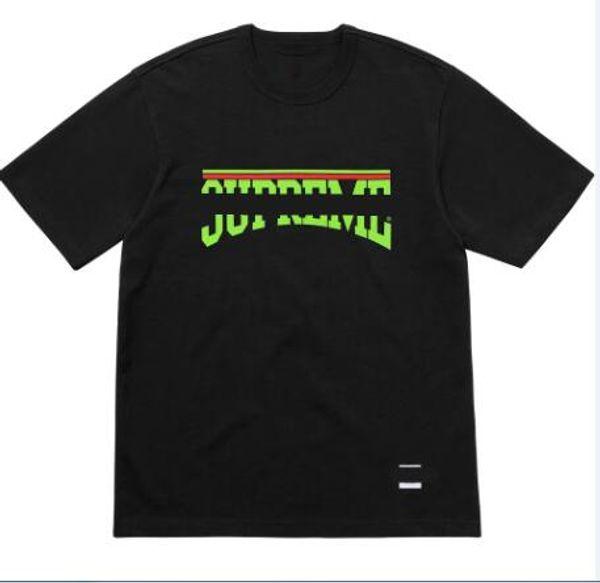 Marka Erkek Tasarımcı T Shirt Siyah Beyaz Erkek Moda Tasarımcısı T Shirt Üst Kısa Kollu S-XXL