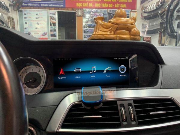 Android 9.0 DVD-плеер автомобиля GPS для Mercedes Benz C класса W204 2011 2012 2013 автомобиль mutimediea 3 способа USB Suppport DAB опционально стерео радио