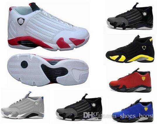 1dad56f05dd6 14 Xiv Oxidized Green Indiglo Thunder Playoffs Black Toe Red Suede 14s Mens  Basketball Shoes Sneakers