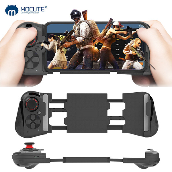 Mocute 050 update 058 Wireless Bluetooth Gamepad Gaming Controller Telescopic Joystick VR Remote Control for Android Phone