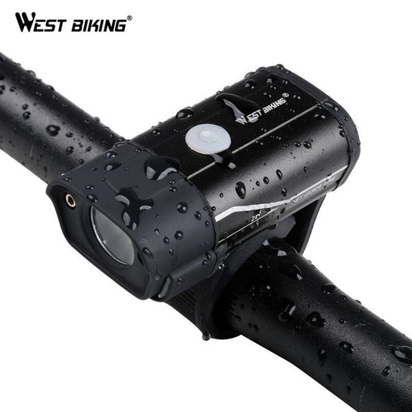 Bike Light Rechargeable Bicycle Front Lamp LED Handlebar Flashlight 350 Lumen MTB Road Cycling Accessories Headlight