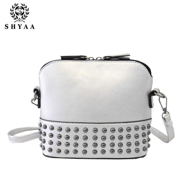 SHYAA Women Bag Summer Fashion Women Messenger Bag Hand Of Lading Shoulder Lady Handbags Rivet Chain Female Bag