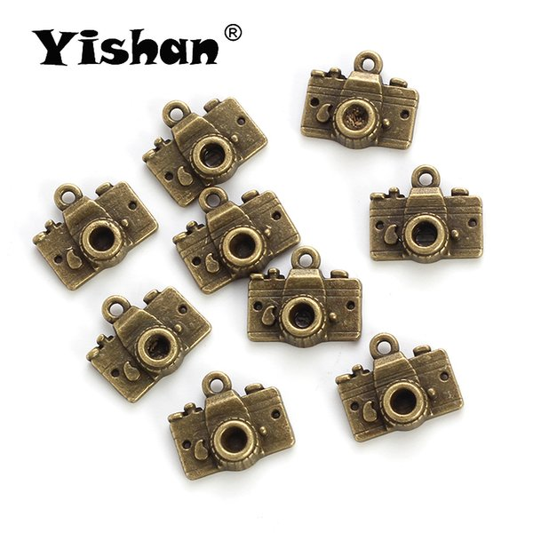 Yishan Vintage Alloy Antique Bronze Lovely Camera Charm Pendant For Bracelet & Necklace Jewelry Hand Making Accessories EY4873