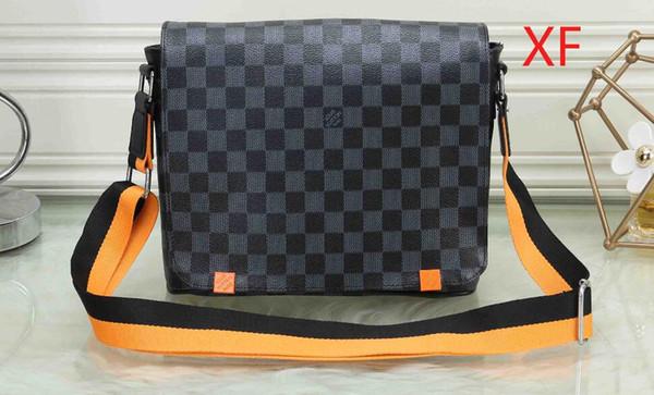 Sacs à main gaufrées mode bandoulière en cuir vintage femmes hommes chaîne sac sac à bandoulière Marque Messenger Bag 02