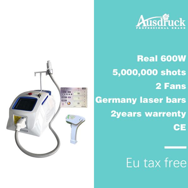 Pain free permanent diode laser pro 808 hair removal hair removal machine 808nm laser alexandrite device