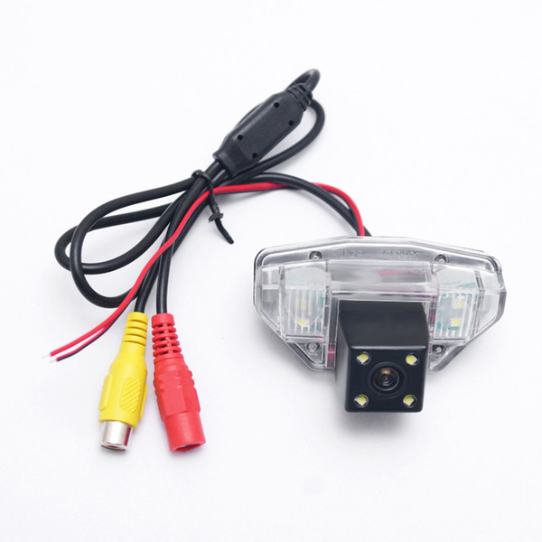wholesale Car Rear View Camera With 4pcs LED light For For Honda CRV(07-11)/Odyssey(08-13)/Crosstour(10~15)/Fit(09-14) Backup Camera #4575