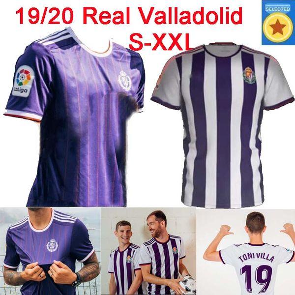 19 20 Real Valladolid Thailand soccer jerseys KIT 2019 2020 Real Valladolid HOME away Jaime Mata Michel Borja Luismi Jaime football shirts