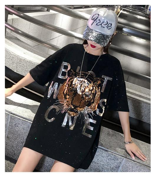 T-shirt pour homme avec tête de tigre avec lettre imprimée T-shirt femme en t-shirt T-shirt à manches courtes femme Tops KZ 1-22 couleurs Emballage d'origine