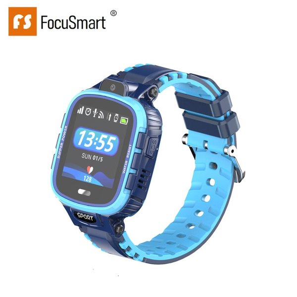 FocuSmart 2019 New TD-11 Smart Bracelet Children'S Watch Take A Photo Connect Network Video Call Emergency Call GPS Positioning