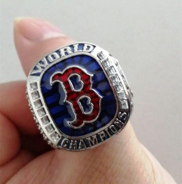 2019 wholesale BOSTON 2018 RED SOX world Championship ring Fan Men Gift Wholesale Drop Shipping