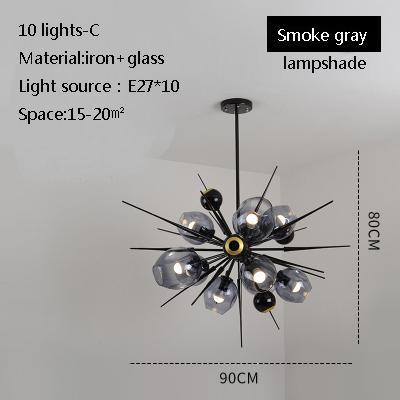 10 luces C